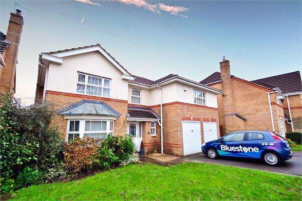 5 Bedrooms Detached House for sale in Priory Crescent, Langstone, Newport, Gwent. NP18 2JF