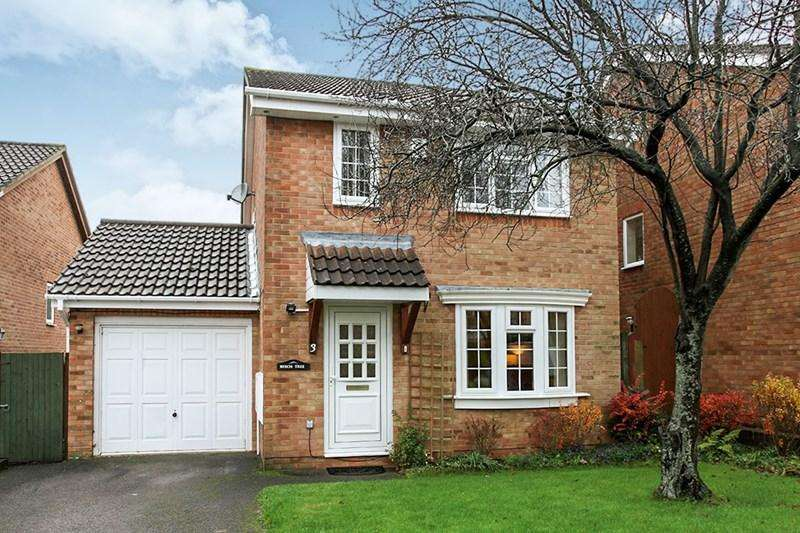 3 Bedrooms Detached House for sale in Beechcroft Close, Andover