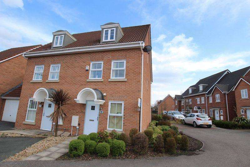 4 Bedrooms Semi Detached House for sale in Leighton Avenue, Alkrington, Middleton, Manchester M24 1PJ