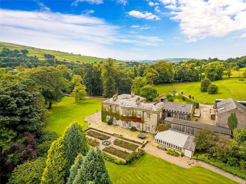 6 Bedrooms Detached House for sale in Whitehough, Chinley, High Peak, Derbyshire, SK23