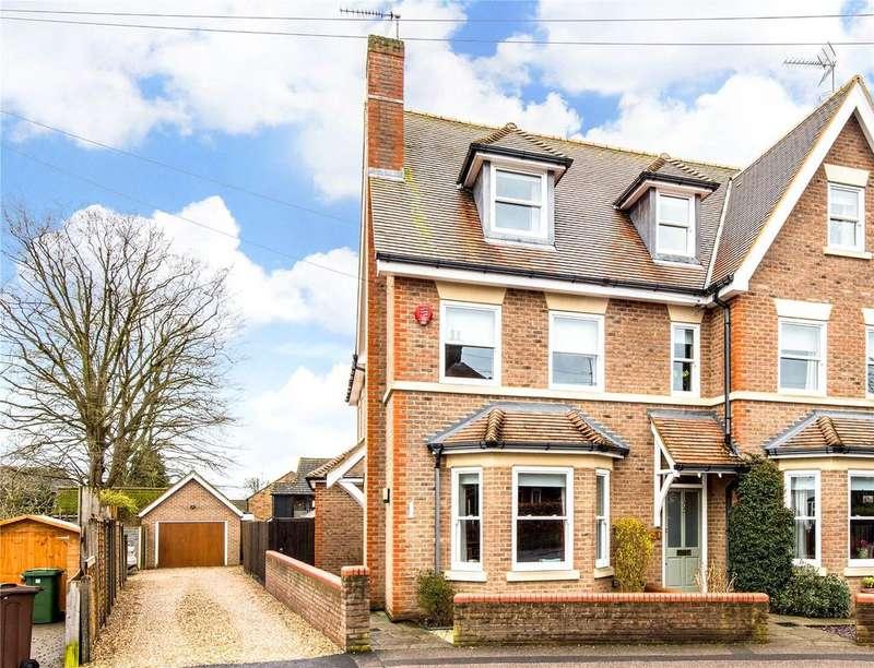 4 Bedrooms Semi Detached House for sale in Devonshire Road, Harpenden, Hertfordshire, AL5
