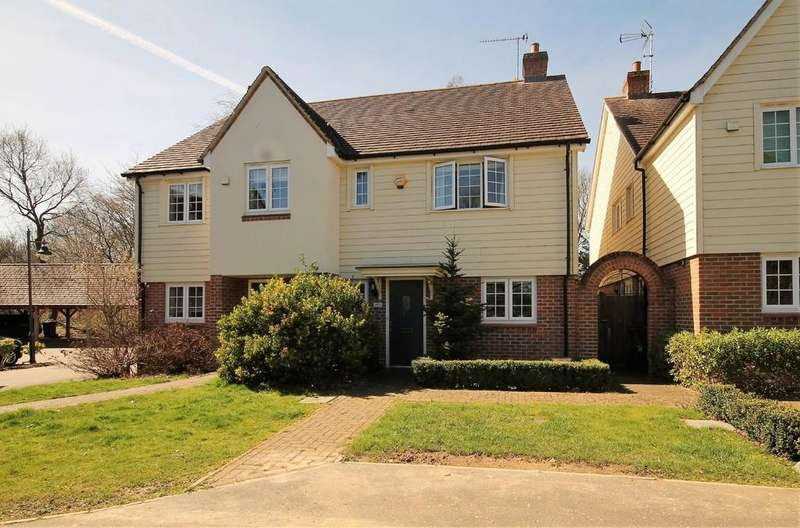 3 Bedrooms Semi Detached House for sale in Old Rectory Drive, Hatfield