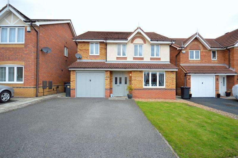 4 Bedrooms Detached House for sale in Bermondsey Grove, Widnes