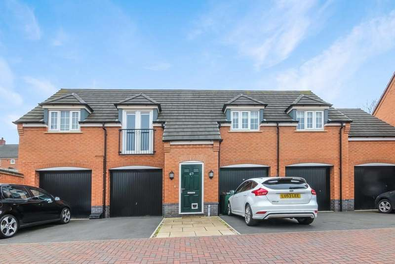 2 Bedrooms Apartment Flat for sale in Pritchard Drive, Kegworth