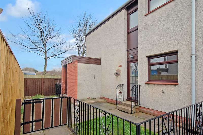 2 Bedrooms End Of Terrace House for sale in Pentland Court, Dalgety Bay