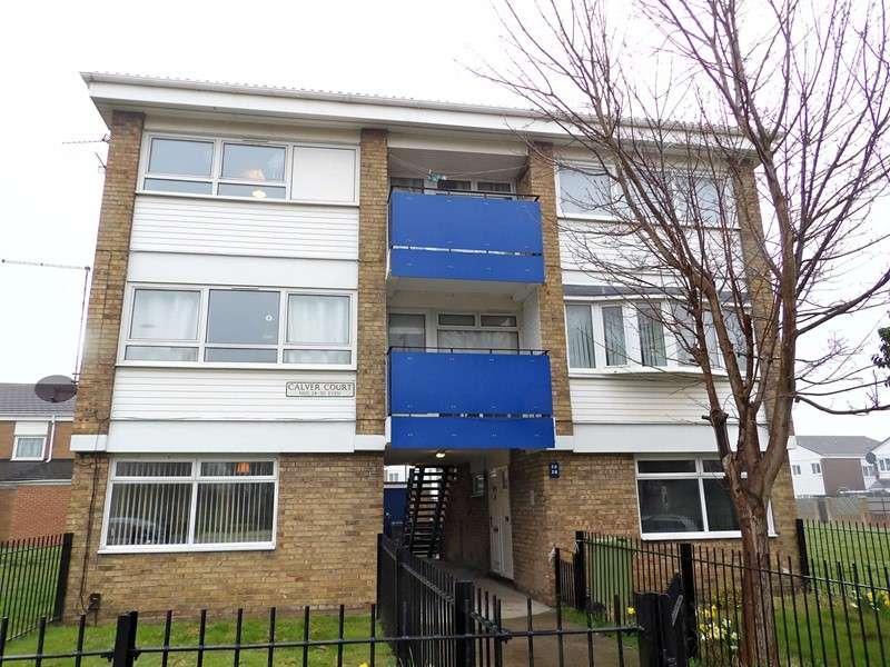 4 Bedrooms Maisonette Flat for sale in Calver Court, Harton Moor, South Shields, Tyne and Wear, NE34 0HL