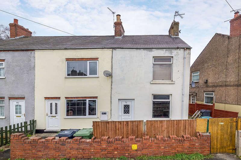 3 Bedrooms Semi Detached House for sale in Sleetmoor Lane, Somercotes, Alfreton, DE55