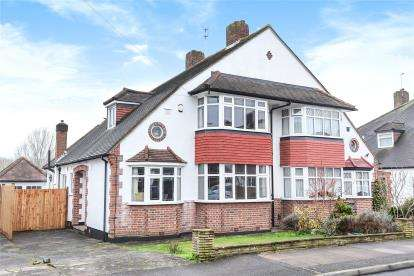 3 Bedrooms Semi Detached House for sale in Windermere Road, West Wickham