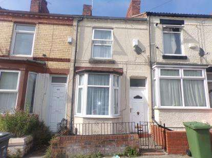 1 Bedroom Terraced House for sale in Harrowby Road, Tranmere, Wirral, CH42