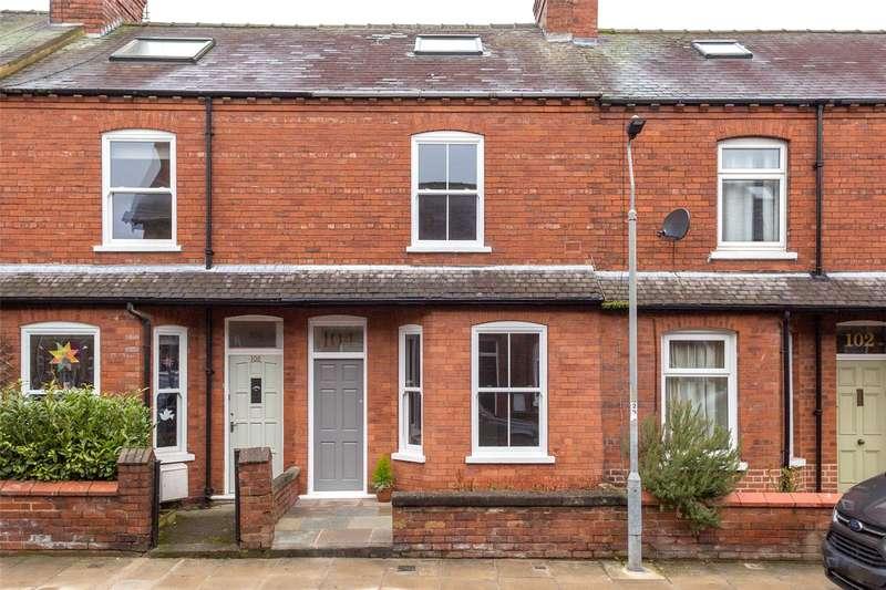 3 Bedrooms Terraced House for sale in Albemarle Road, York, YO23