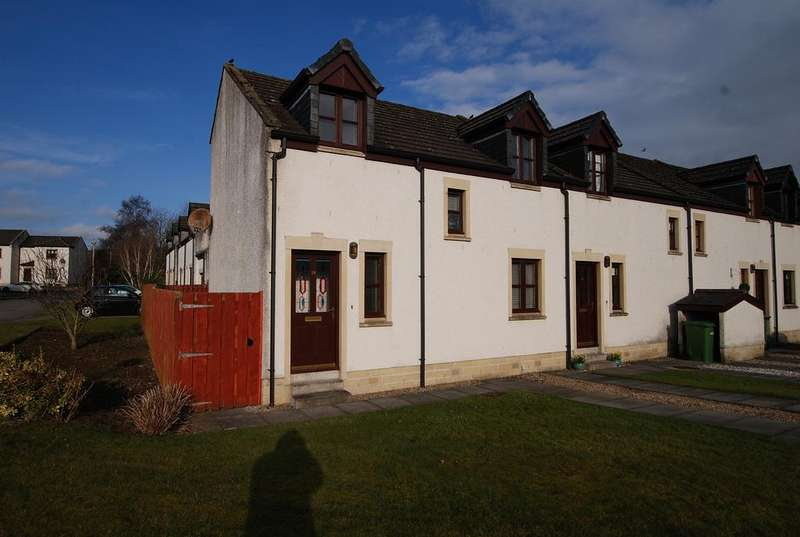 2 Bedrooms End Of Terrace House for sale in 18 Nursery Square, Minishant, MAYBOLE, KA19 8AJ