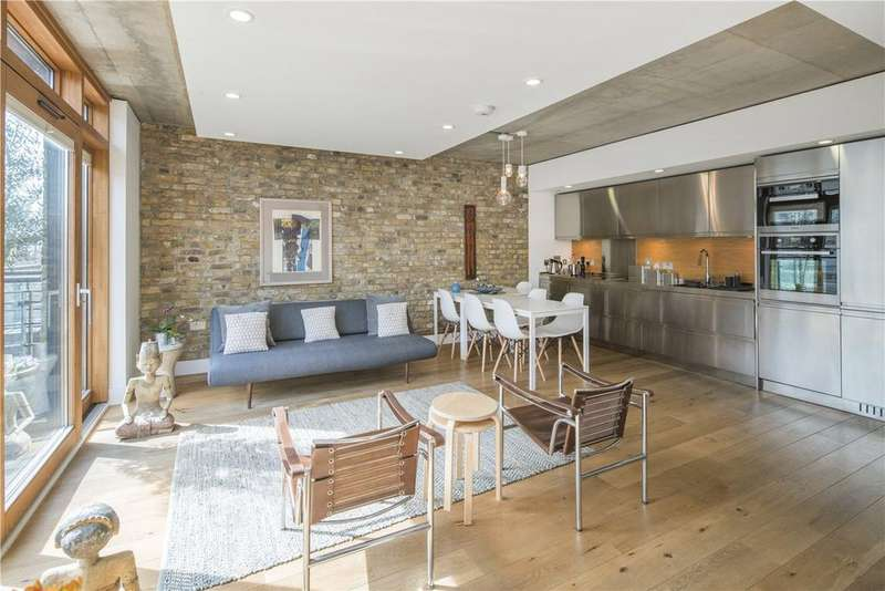 2 Bedrooms Flat for sale in The Henson Building, 30 Oval Road, Camden, NW1