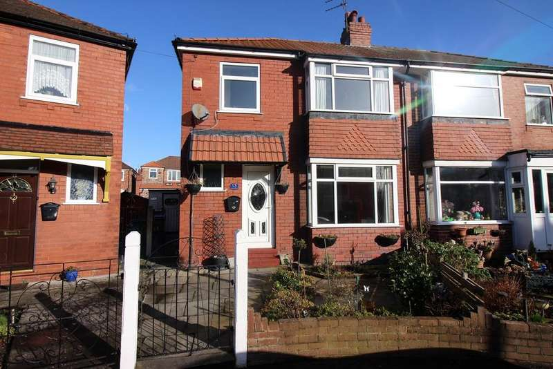 3 Bedrooms Semi Detached House for sale in Kinnaird Crescent, Offerton, Stockport, SK1