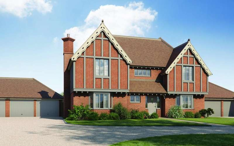 5 Bedrooms Detached House for sale in Flame Trees Plot 3, Spencer Gardens, Tendring Green