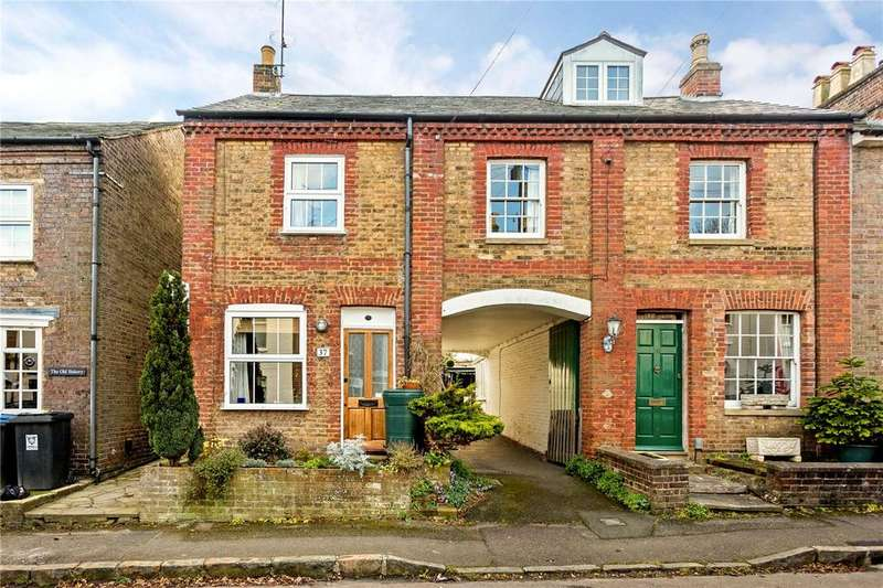 3 Bedrooms End Of Terrace House for sale in Albert Street, Tring, Hertfordshire, HP23