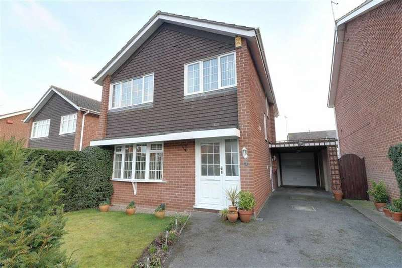 4 Bedrooms Detached House for sale in Gypsum Way, Draycott In The Clay