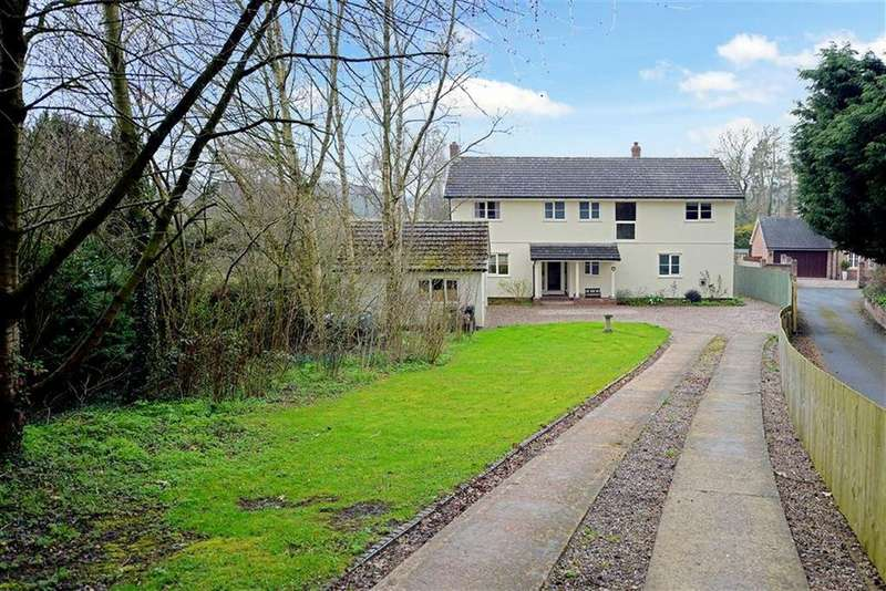 5 Bedrooms Detached House for sale in Harmer Hill, Shrewsbury, Shropshire