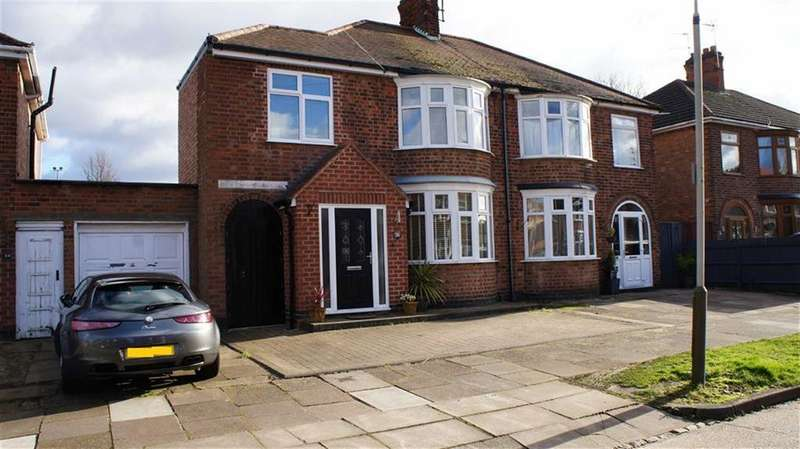 3 Bedrooms Semi Detached House for sale in St Anne's Drive, Aylestone