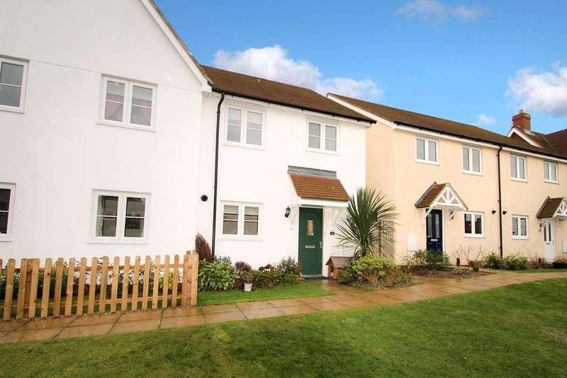 3 Bedrooms Semi Detached House for sale in Avey Walk, Stanton, Bury St Edmunds, IP31