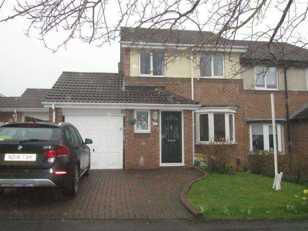 3 Bedrooms Semi Detached House for sale in HAYSTON ROAD, NAISBERRY PARK, HARTLEPOOL