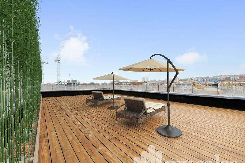 2 Bedrooms Penthouse Flat for sale in Ivory Place, Brighton, BN2