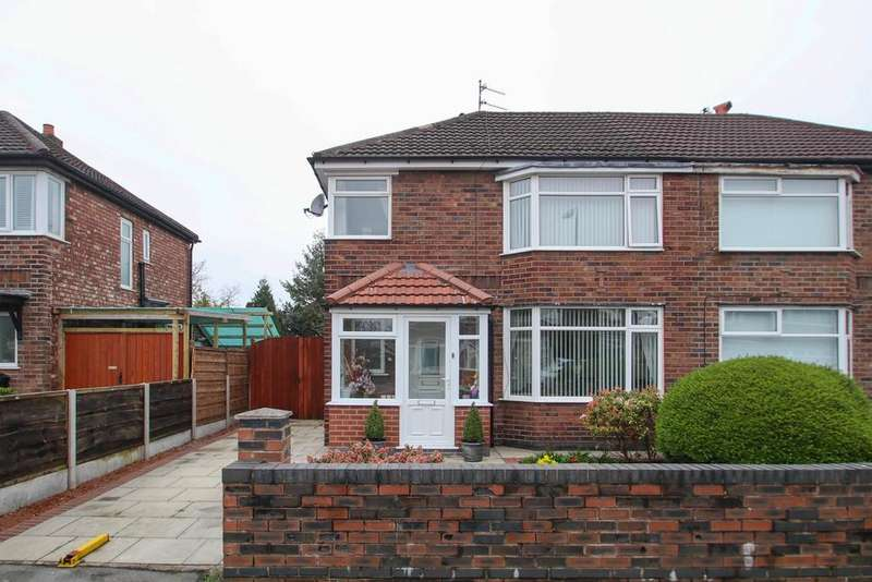 3 Bedrooms Semi Detached House for sale in Humphrey Park, Urmston, Manchester, M41