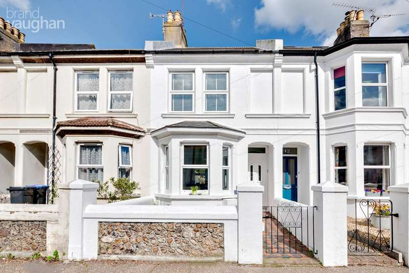 2 Bedrooms Terraced House for sale in Queen Street, Worthing, BN14