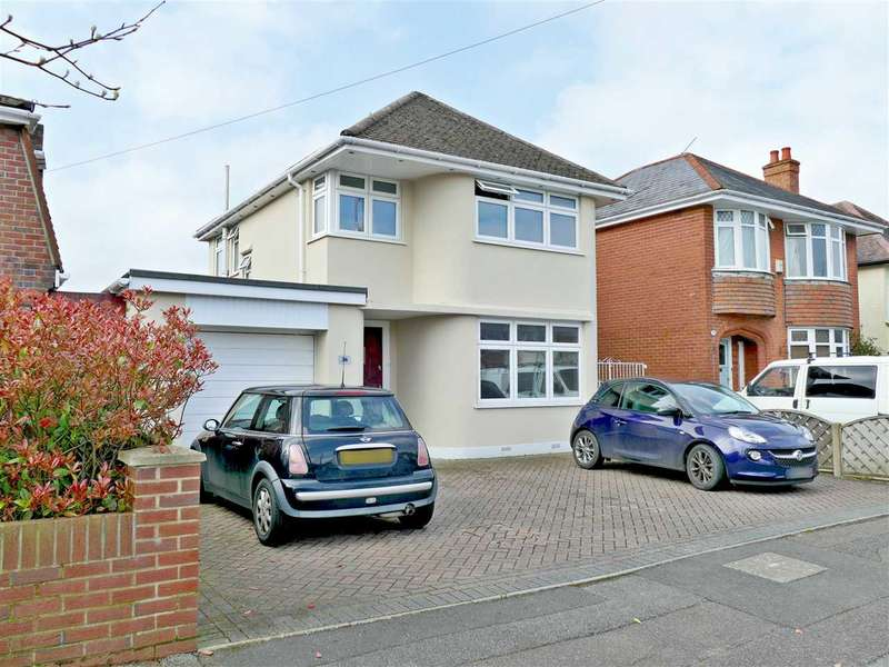 4 Bedrooms Detached House for sale in HILLVIEW & WINTON/GLENMOOR SCHOOL CATCHMENT - LARGE FAMILY HOME
