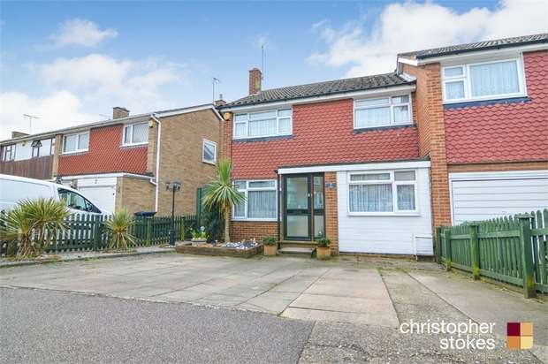 3 Bedrooms End Of Terrace House for sale in Nunsbury Drive, BROXBOURNE, Hertfordshire