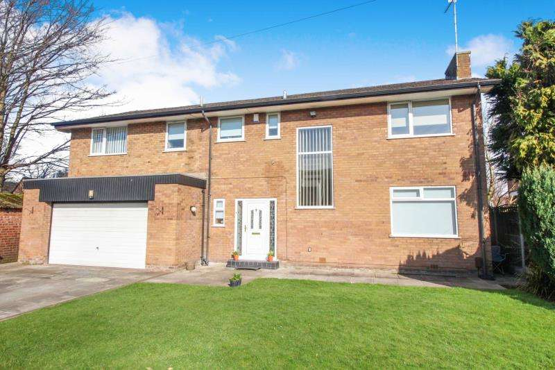 5 Bedrooms Detached House for sale in High Lea, Cheadle, Cheshire