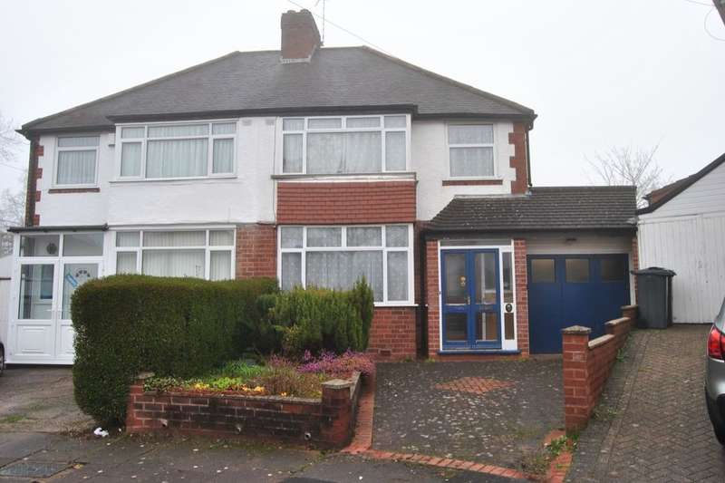 3 Bedrooms Semi Detached House for sale in Hilary Grove, Birmingham, B31