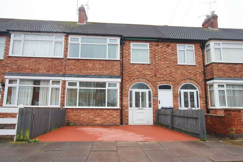 3 Bedrooms Terraced House for sale in Shropshire Road, Leicester, LE2