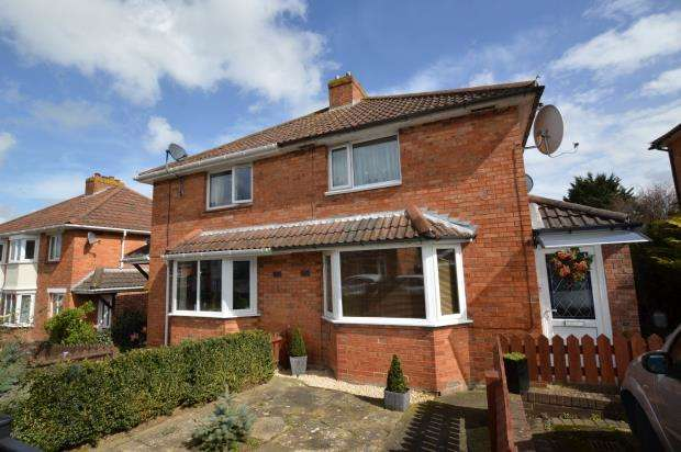 2 Bedrooms Semi Detached House for sale in Crossway, Taunton, Somerset