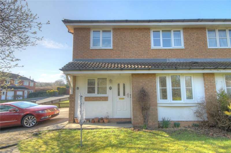 2 Bedrooms End Of Terrace House for sale in Redmire Close, Darlington, DL1