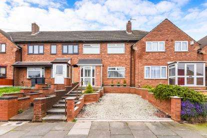3 Bedrooms Terraced House for sale in Weybourne Road, Great Barr, Birmingham, West Midlands
