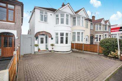 3 Bedrooms End Of Terrace House for sale in Evenlode Crescent, Coundon, Coventry, West Midlands