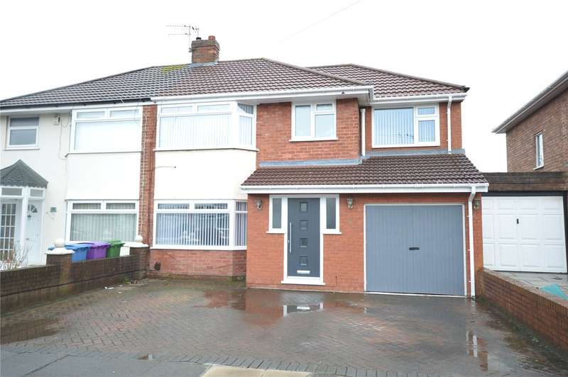 3 Bedrooms Semi Detached House for sale in Beechurst Road, Gateacre, Liverpool, L25