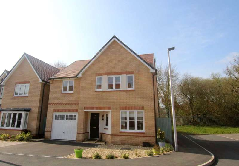 4 Bedrooms Detached House for sale in Hewetson Way, Bideford