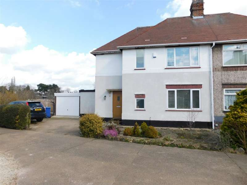 3 Bedrooms Semi Detached House for sale in Welbeck Road, Long Eaton