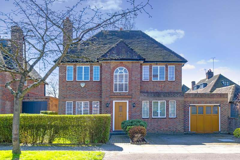 5 Bedrooms Detached House for sale in Meadway, Hampstead Garden Suburb