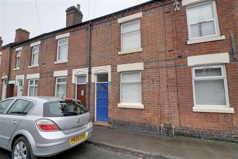 2 Bedrooms Terraced House for sale in Kildare Street, Dresden, Stoke-on-Trent