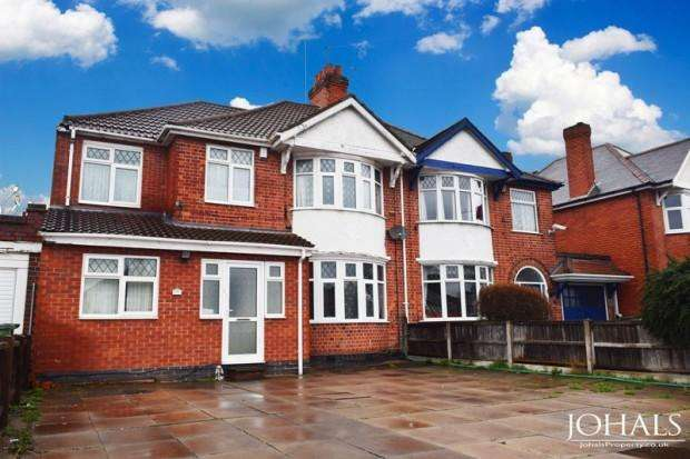 5 Bedrooms Semi Detached House for rent in Narborough Road South, Leicester, LE3