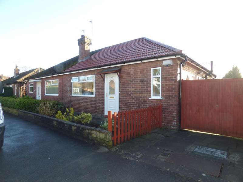 2 Bedrooms Semi Detached Bungalow for sale in Gladstone Street, Great Moor, Stockport, SK2
