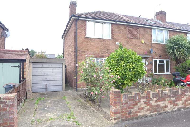 2 Bedrooms End Of Terrace House for sale in Cassiobury Avenue, Feltham
