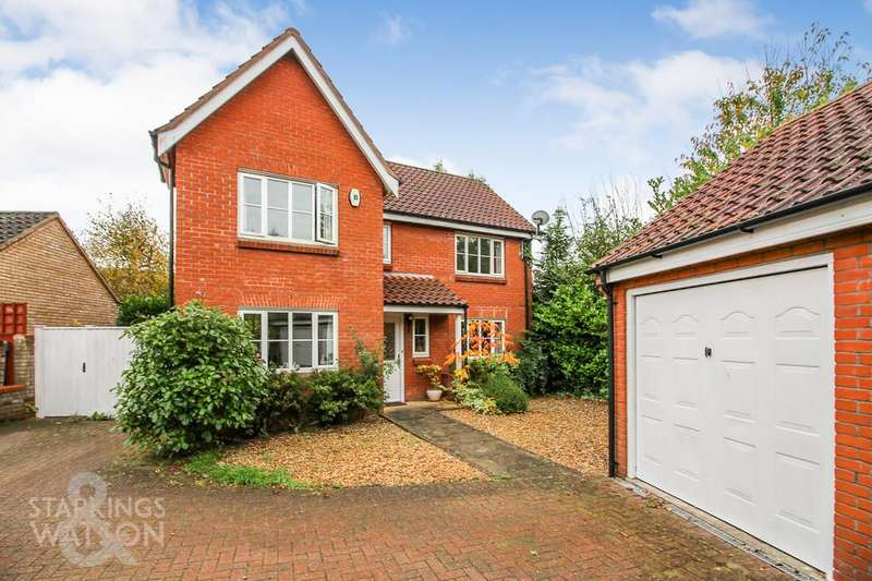4 Bedrooms Detached House for sale in Vane Close, Dussindale, Norwich
