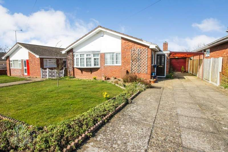 2 Bedrooms Detached Bungalow for sale in Fritton Close, Ormesby