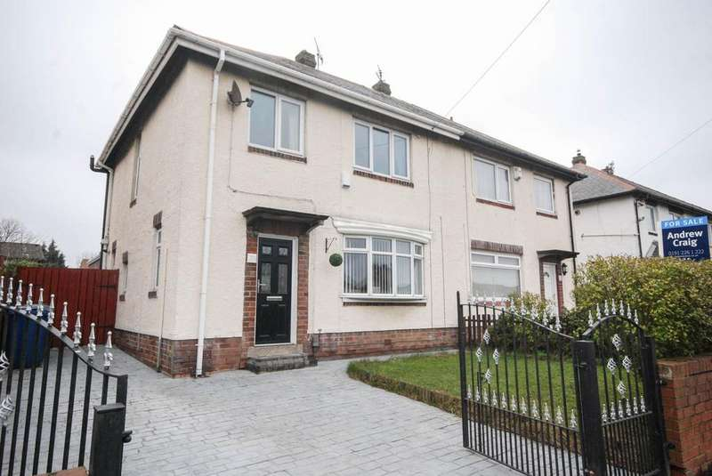 3 Bedrooms Semi Detached House for sale in Stanhope Road, Jarrow