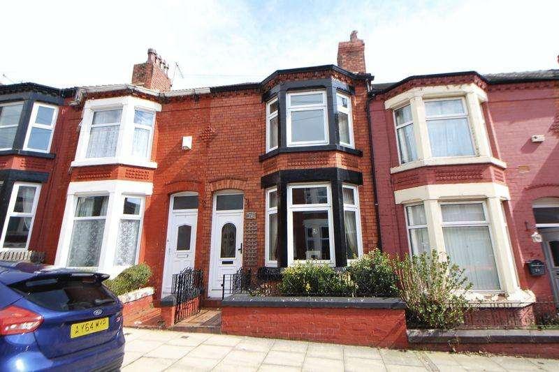 3 Bedrooms Terraced House for sale in Rosedale Road, Birkenhead