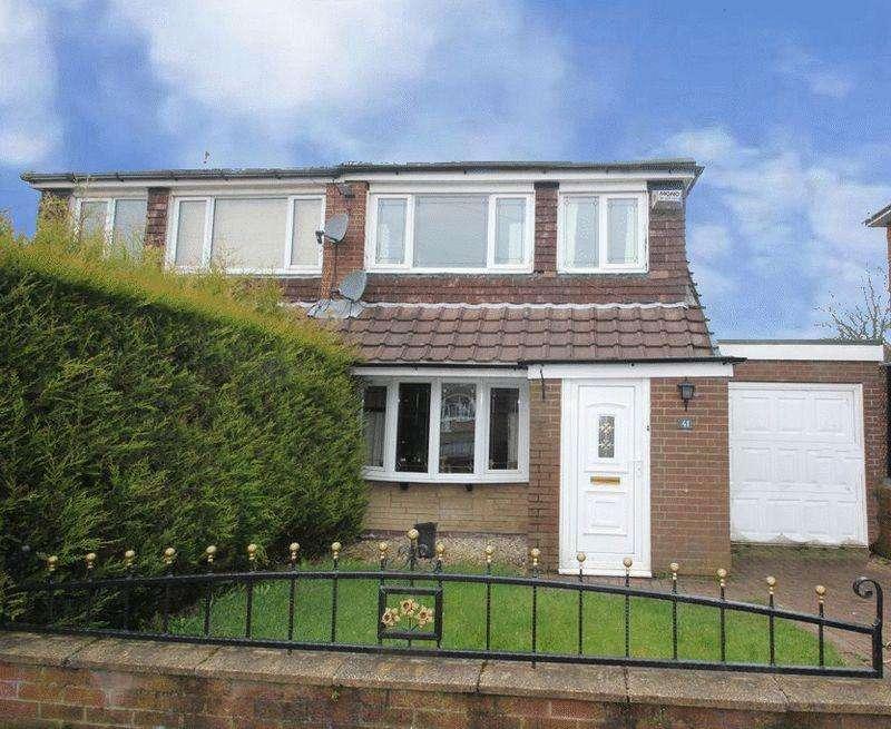 3 Bedrooms Semi Detached House for sale in Brookdale, Lower Healey, Rochdale OL12 0SS