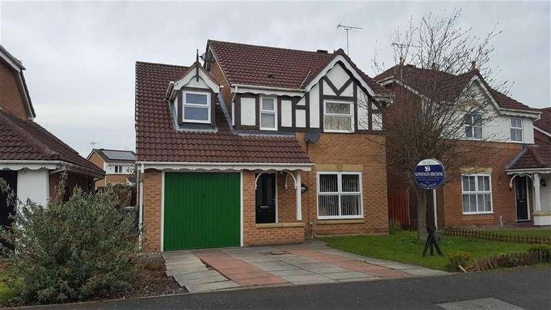 4 Bedrooms Detached House for rent in Lambourn Drive, Crewe, Crewe